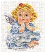"""0-094-Алиса  """"Ангелок мечты"""" 11х14 см"""