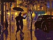 "ИБ-009-Империя бисера ""Танец под дождем"" 38х45 см"