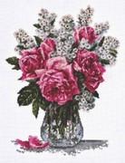 """01.010-Палитра """"Розовый букет"""" 25х33 см"""