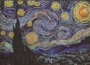 "0116-Преобрана ""Звездная ночь"" по картине Ван Гога"" 28х38 см"