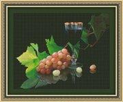 "0124-Юнона ""Виноград и вино"" 41,5х33 см"