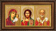Р021 Рама для иконы Русская искусница 13х27,3 см
