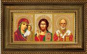 Р022 Рама для иконы Русская искусница 13х27,3 см