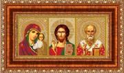 Р023 Рама для иконы Русская искусница 13х27,3 см