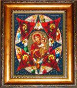 Р025 Рама для иконы Русская искусница 26х31,2 см