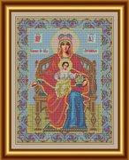 """И-031-GC  Икона Божией Матери """"Державная"""" 28 x 36 см"""