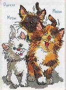 """038-0208-Janlynn """"Хвостики (Три кота)"""" 12,7х17,8 см"""