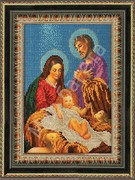 "43 БК Рамка со стеклом ""Рождество Христово"" 19х26 см"