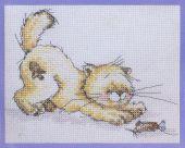 "STS-101 ""Кошка и мышка"" 15х11 см"