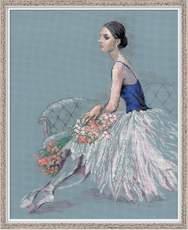 "100/054-Риолис ""Балерина""  40x50 см"