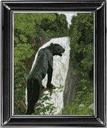 """10513-КиТ """"Черная пантера"""" 43,6х 55,6 см"""