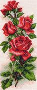 "1074n-МП ""Алые розы"" 24х47 см"