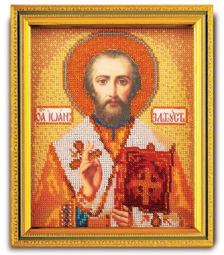 """В-347-ЮК """"Святой Иоанн Златоуст"""" 12х14,5 см"""