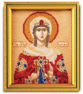 """В-351-ЮК """"Святая Варвара"""" 12х14,5 см"""