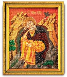 """В-355-ЮК """"Святой Илья Пророк"""" 12х14,5 см"""