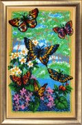 "110-Butterfly ""Порхающие бабочки"" 36х22 см"