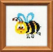 """1111-Риолис """"Пчёлка"""" 10x10 см"""