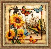 """114-Butterfly """"Привет из Украины"""" 26х27 см"""