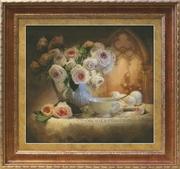 """1203-Юнона """"Чайный натюрморт"""" 39,8х36,7 см"""