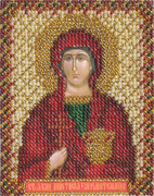 """ЦМ-1216-Панна """"Святая Анастасия"""" 8,5х10,5 см"""