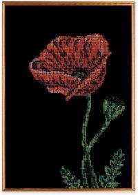 """В-138-Кроше """"Аленький цветочек"""" 25х30 см"""