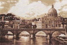 "ГМ-1332-Panna ""Рим. Собор Святого Петра"" 41х27 см"