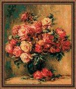 """1402-Риолис """"Букет роз"""" 40х48 см"""