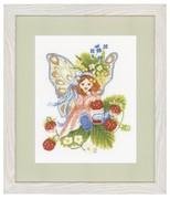 """147156А-Lanarte """"Девочка с лесной земляникой"""" 22х28 см"""