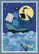 """1511-Риолис """"Пиратский корабль"""" 21х30 см"""