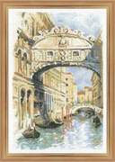 "1552-Риолис ""Венеция. Мост вздохов"" 26х38 см"