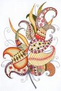 "1586-Риолис ""Волшебное перо"" 21х30 см"