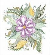 """1588-Риолис """"Прекрасный цветок"""" 30х34 см"""