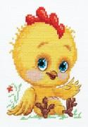 """19-20-Чудесная игла """"Петушок-золотой гребешок"""" 10х14 см"""