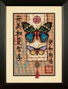 """20065-Dimensions """"Восточные бабочки"""" 25х38 см"""