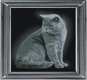 """21111-КиТ """"Британская короткошерстная кошка"""" 28х28 см"""