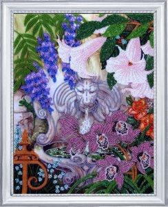 "229-Butterfly ""Фонтан в саду"" 35х27 см"