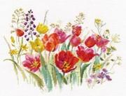 "2-34-Алиса ""Полевые тюльпаны"" 30х21 см"