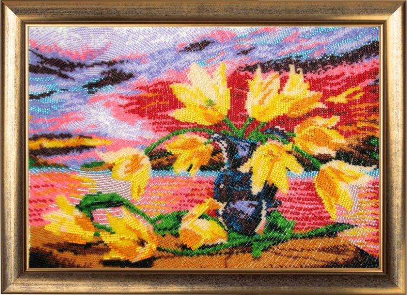 """234-Butterfly """"Желтые тюльпаны"""" 25х35 см"""