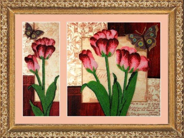 """255-Butterfly """"Тюльпаны"""" 26х10/26х26 см"""