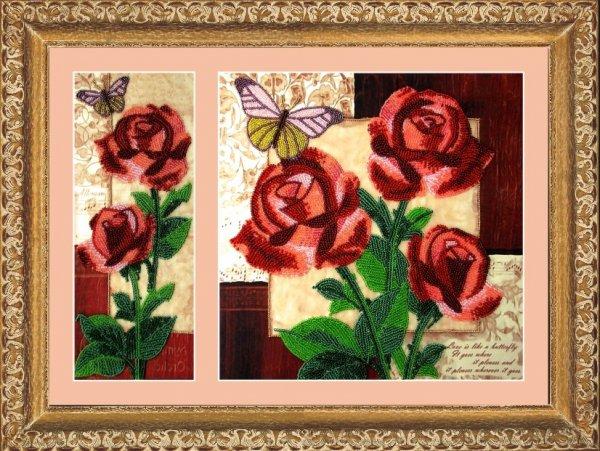 "258-Butterfly ""Розы"" 26х10/26х26 см"