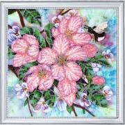 "262-Butterfly ""Яблоневый цвет"" 28х28 см"