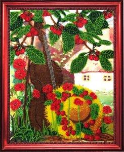 """311-Butterfly """"Вишневый сад"""" 32х25 см"""