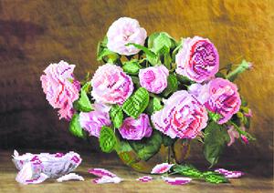 "0031/Б-МП ""Розовый аромат"" 25х35 см"