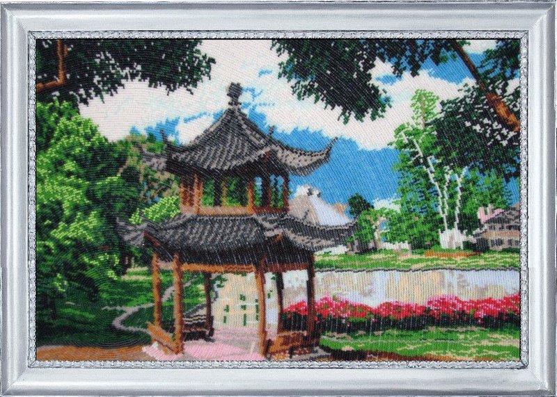 "328-Butterfly ""Китайский садик"" 32х50 см"