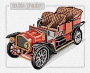 """33-C-Pinn """"Антикварные машины. Дабл Фаэтон"""" 29х23 см"""