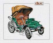 """33-D-Pinn """"Антикварные машины. Дюк"""" 29х23 см"""