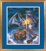 """35080-Dimensions """"Величественный волшебник"""" 30х36 см"""