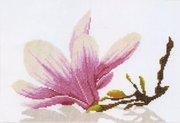 """PN-0008304-Lanarte """"Ветка магнолии с цветком"""" 30х20 см"""