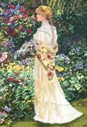 """35119-Dimensions """"В ее саду"""" 28х41 см"""