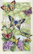 "35223-Dimensions ""Лес бабочек"" 25х41 см"